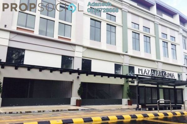 For Rent Office at Plaza Arcadia, Desa ParkCity Freehold Unfurnished 1R/1B 3.12k