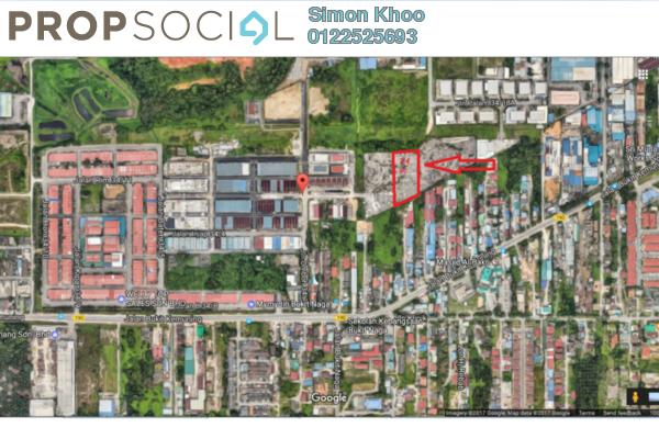 For Sale Land at Bukit Kemuning Industrial Park, Kota Kemuning Freehold Unfurnished 0R/0B 12.5m