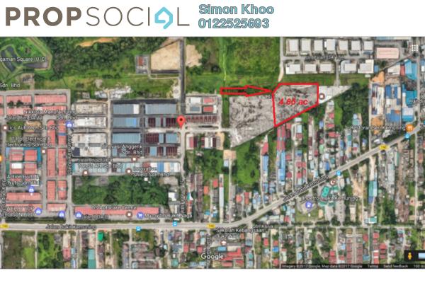 For Sale Land at Bukit Kemuning Industrial Park, Kota Kemuning Freehold Unfurnished 0R/0B 19.2m