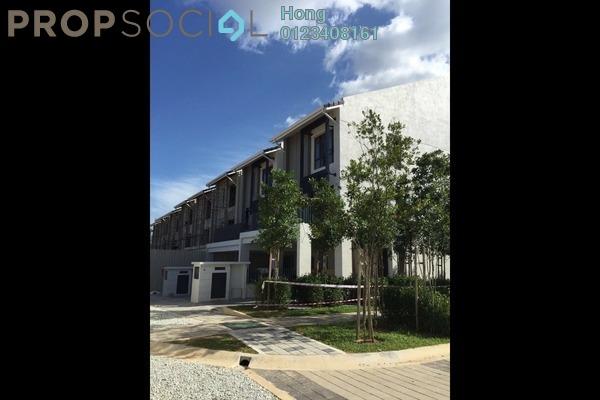 For Sale Townhouse at Crescent Park Town Villa, Bandar Bukit Mahkota Freehold Unfurnished 3R/3B 530k