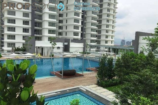 For Rent Condominium at The Westside One, Desa ParkCity Freehold Semi Furnished 2R/3B 3k