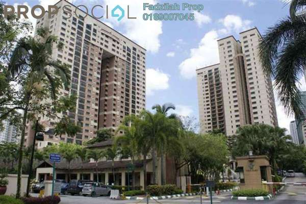 For Rent Condominium at Vista Kiara, Mont Kiara Freehold Semi Furnished 3R/2B 2.9k