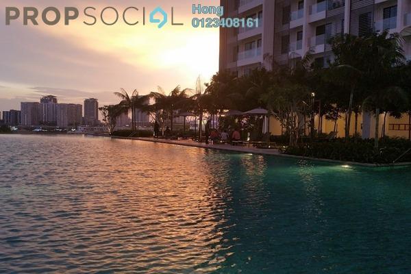 For Sale Condominium at CyberSquare, Cyberjaya Freehold Semi Furnished 1R/1B 280k