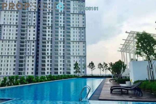 For Sale Condominium at Verdi Eco-dominiums, Cyberjaya Freehold Semi Furnished 1R/1B 440k