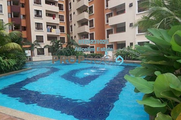 For Rent Condominium at Palm Spring, Kota Damansara Leasehold Fully Furnished 3R/2B 1.5k