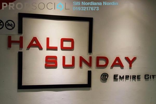 For Rent SoHo/Studio at Empire City, Damansara Perdana Leasehold Fully Furnished 1R/1B 1.5k