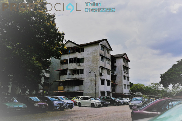 For Sale Apartment at Happy Garden, Old Klang Road Freehold Semi Furnished 3R/1B 230k