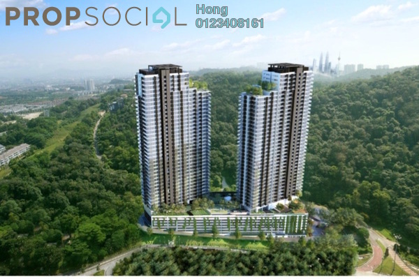 For Sale Condominium at Country Heights Damansara, Kuala Lumpur Freehold Semi Furnished 2R/2B 730k