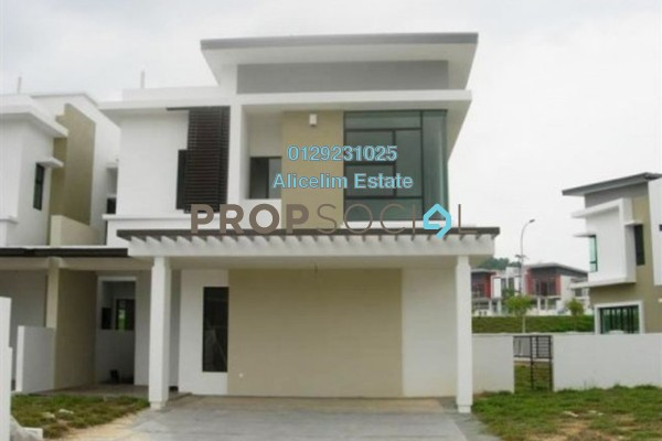 For Rent Semi-Detached at Lake Garden Villas, Cahaya SPK Leasehold Unfurnished 5R/5B 1.8k