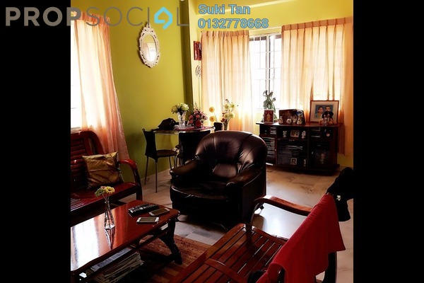 For Sale Apartment at Aman Puri, Kepong Freehold Semi Furnished 3R/2B 340k