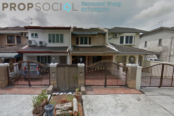 For Sale Terrace at Pandan Perdana, Pandan Indah Leasehold Semi Furnished 4R/3B 659k
