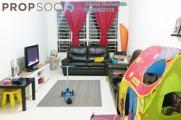 For Sale Condominium at Banjaria Court, Batu Caves Leasehold Semi Furnished 3R/2B 380k