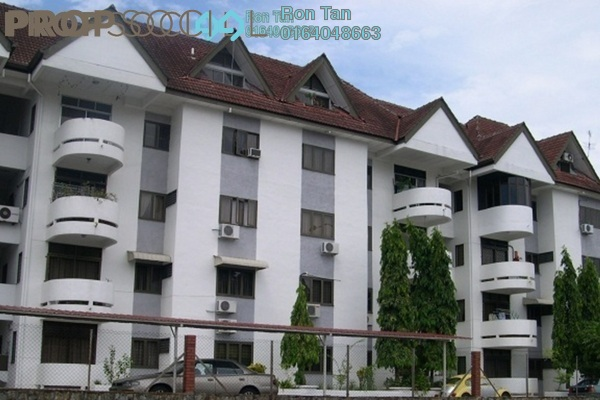 For Sale Apartment at Mutiara Court, Gelugor Freehold Fully Furnished 3R/2B 580k