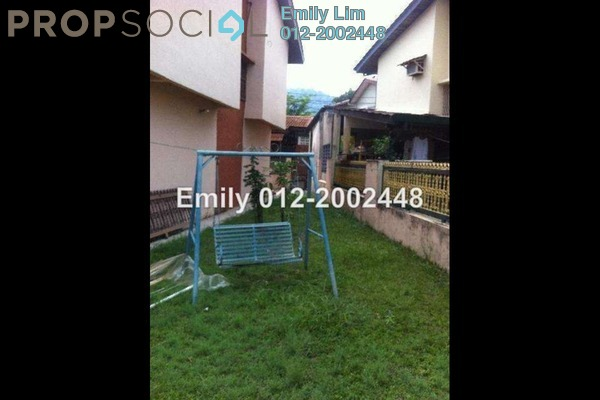 For Sale Terrace at Taman Ehsan, Kepong Leasehold Semi Furnished 4R/3B 770k
