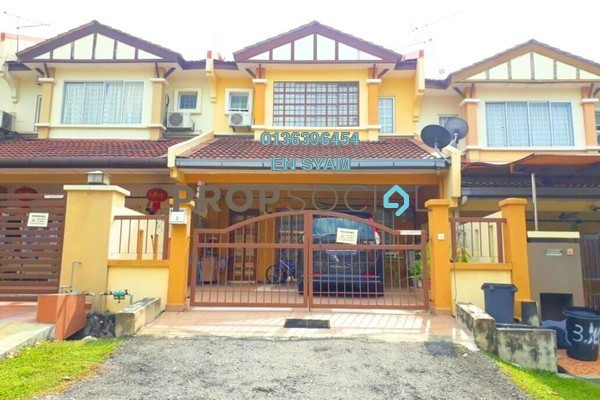 For Sale Terrace at Prima Saujana, Kajang Freehold Unfurnished 4R/3B 520k