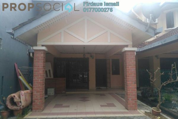 For Sale Terrace at Section 7, Shah Alam Leasehold Semi Furnished 4R/3B 560k