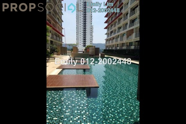 For Sale SoHo/Studio at Ritze Perdana 2, Damansara Perdana Leasehold Fully Furnished 1R/1B 420k