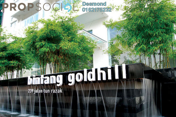 For Sale Condominium at Bintang Goldhill, KLCC Freehold Fully Furnished 1R/1B 698k