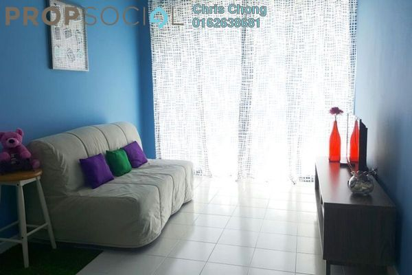 For Rent Condominium at Ritze Perdana 1, Damansara Perdana Leasehold Fully Furnished 1R/1B 1.5k