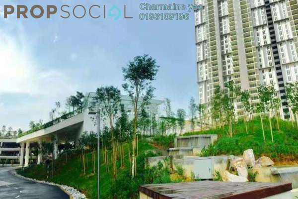 For Rent Condominium at Verdi Eco-dominiums, Cyberjaya Freehold Semi Furnished 3R/3B 4k
