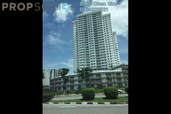 For Rent Condominium at Arena Residence, Bayan Baru Freehold Semi Furnished 3R/3B 1.45k