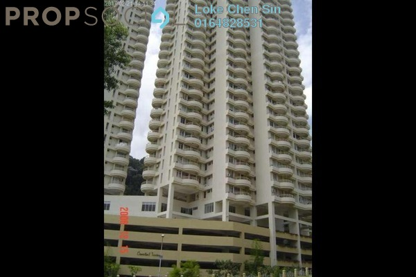 For Rent Apartment at Coastal Towers, Tanjung Bungah Freehold Fully Furnished 3R/2B 2.1k
