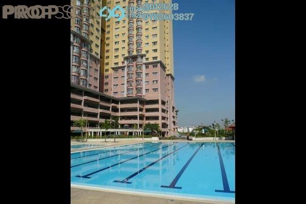 For Rent Condominium at Bayu Tasik 2, Bandar Sri Permaisuri Leasehold Unfurnished 3R/2B 1.5k