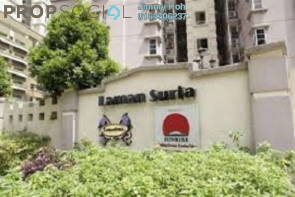 For Rent Condominium at Laman Suria, Mont Kiara Freehold Fully Furnished 3R/2B 2.6k