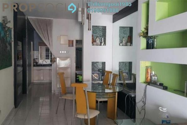 For Rent Apartment at The OceanView, Jelutong Leasehold Fully Furnished 3R/2B 1.6k