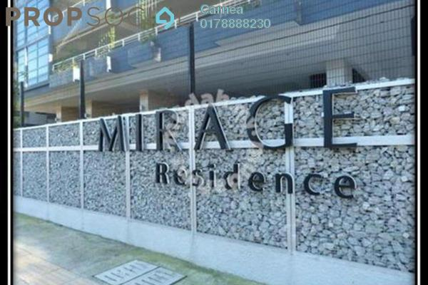 For Sale Condominium at Mirage Residence, KLCC Freehold Fully Furnished 3R/3B 2.21m