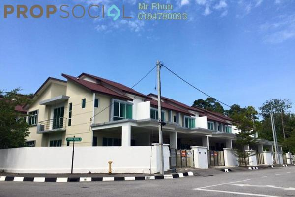 For Rent Terrace at Prestige V, Batu Maung Freehold Fully Furnished 4R/3B 1.75k