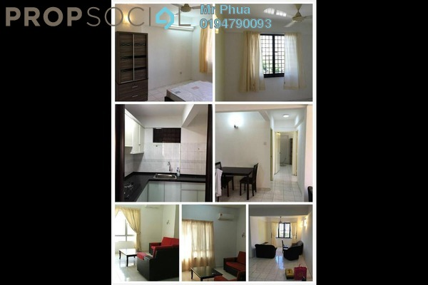For Rent Condominium at Ria Apartment, Butterworth Freehold Fully Furnished 3R/2B 1k