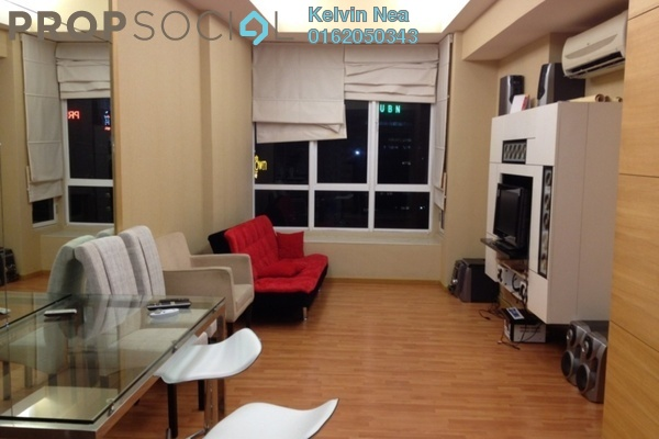 For Rent SoHo/Studio at Summer Suites, KLCC Leasehold Fully Furnished 1R/1B 2k