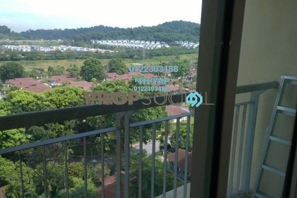 For Sale SoHo/Studio at Ritze Perdana 1, Damansara Perdana Leasehold Semi Furnished 1R/1B 335k