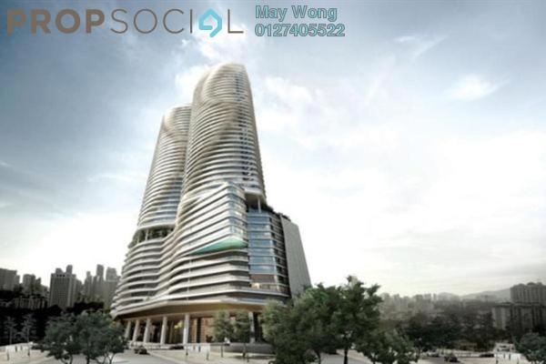 For Rent Condominium at KL Gateway, Bangsar South Leasehold Semi Furnished 2R/2B 3.8k