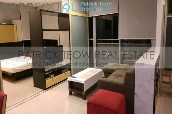 For Rent Condominium at VERVE Suites, Mont Kiara Freehold Fully Furnished 2R/2B 3.9k