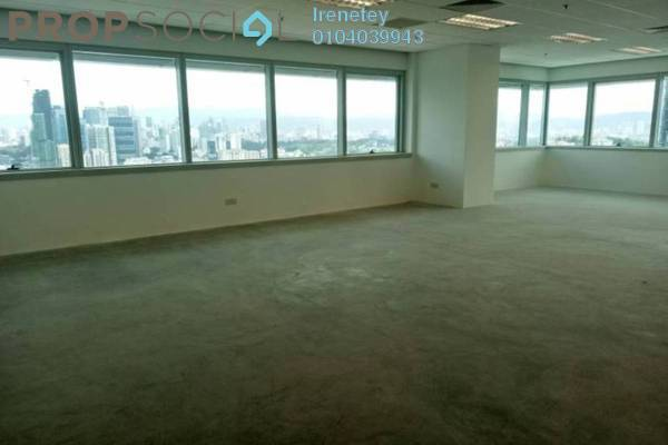 For Rent Office at KL Eco City, Mid Valley City Leasehold Unfurnished 0R/1B 4.14k
