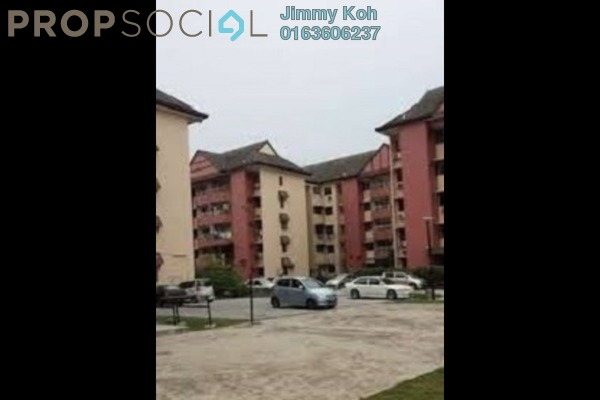 For Rent Apartment at 1C Pinang, Old Klang Road Leasehold Semi Furnished 3R/2B 1.05k