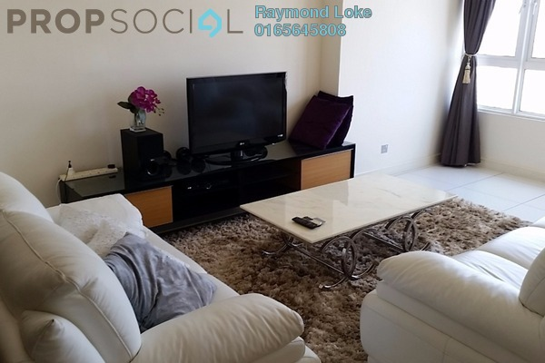 For Rent Condominium at Tiffani Kiara, Mont Kiara Freehold Fully Furnished 2R/2B 4.8k