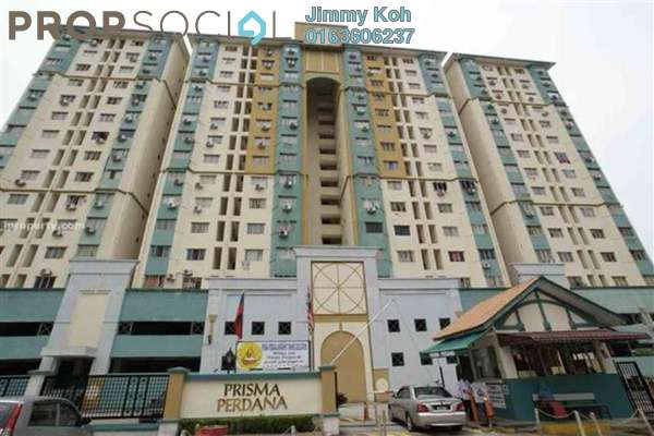 For Rent Condominium at Prisma Perdana, Cheras Freehold Semi Furnished 3R/2B 1k