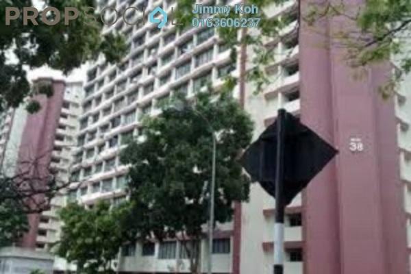 For Rent Condominium at Sri Tioman II, Setapak Freehold Fully Furnished 2R/2B 1.2k