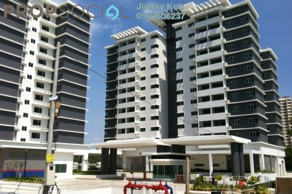 For Rent Condominium at Kiara Residence, Bukit Jalil Leasehold Fully Furnished 3R/2B 2.6k