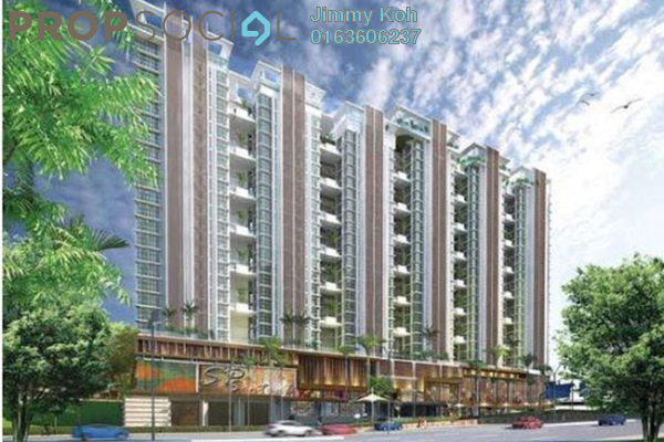 For Rent Condominium at Central Residence, Sungai Besi Freehold Unfurnished 2R/2B 1.4k