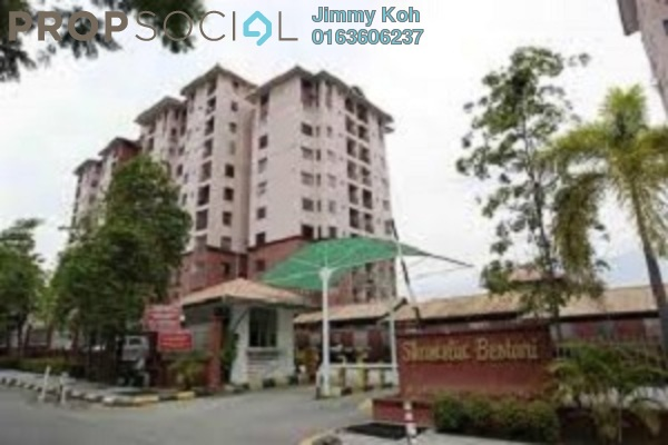 For Rent Condominium at Shamelin Bestari, Cheras Freehold Semi Furnished 3R/2B 1.2k