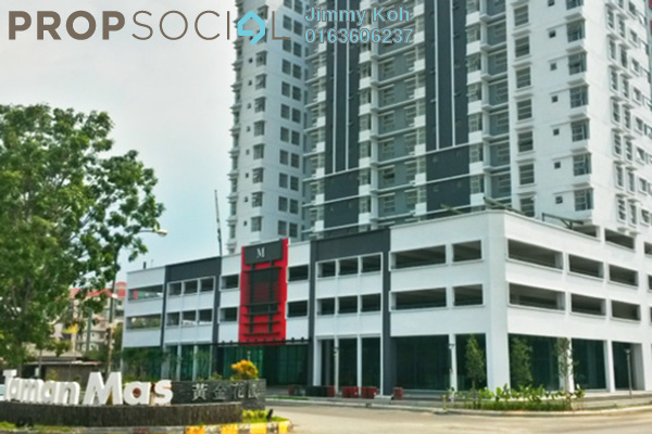 For Rent Condominium at Calisa Residences, Puchong Leasehold Unfurnished 2R/2B 900translationmissing:en.pricing.unit