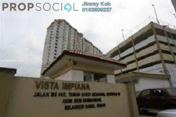 For Rent Condominium at Vista Impiana Apartment, Seri Kembangan Leasehold Fully Furnished 1R/1B 800translationmissing:en.pricing.unit