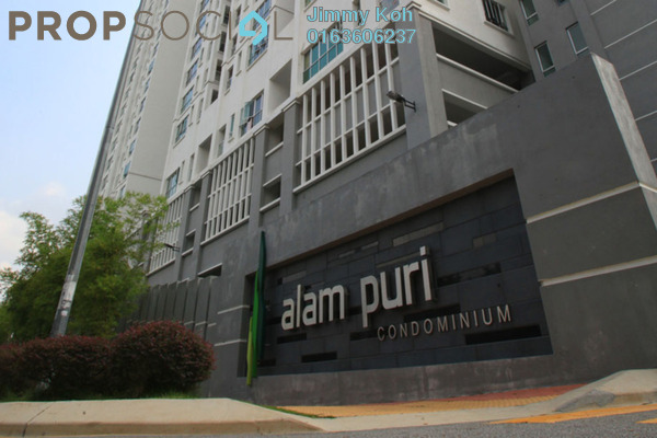 For Rent Condominium at Alam Puri, Jalan Ipoh Freehold Semi Furnished 3R/2B 1.4k