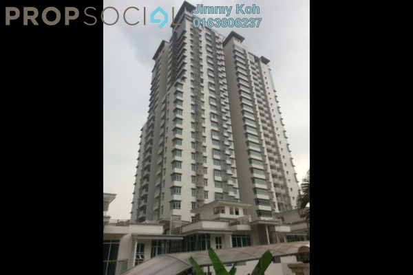 For Rent Condominium at Saville @ The Park, Pantai Freehold Semi Furnished 3R/2B 2.3k