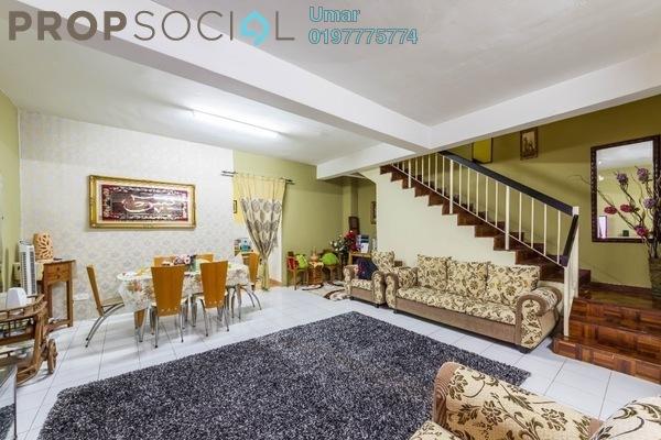 For Sale Terrace at Taman Puncak Jalil, Bandar Putra Permai Leasehold Semi Furnished 4R/3B 480k