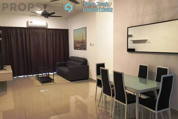 For Rent Condominium at Anyaman Residence, Bandar Tasik Selatan Freehold Semi Furnished 3R/2B 1.5k